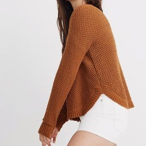 Madewell Parkhouse Pullover Golden Pecan XS